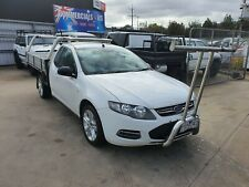 2012 FORD FALCON FG (LPI) 6SP AUTO AUTOMATIC CAB/CHASSIS UTE!