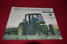 John Deere 6200 6300 6400 Tractor Dealer's Brochure AMIL4