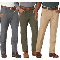 Wrangler Mens Stretch Work Wear Relaxed Straight Leg Utility Reinforced Pants