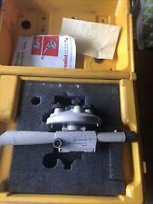 David White Instruments Meridian L6 20 Transit Level Survey Measurement With Case