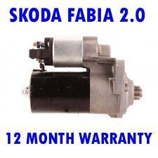 SKODA FABIA 2.0 1999 2000 2001 2002 2003 2004 2005 - 2008 RMFD STARTER MOTOR