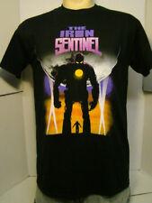 The Iron Giant Men's T-Shirt Iron Man Wolverine Medium Black