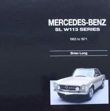 LIVRE/BOOK : MERCEDES BENZ SL SERIE W113 1963-71 (voiture de collection,pagode