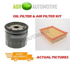 PETROL SERVICE KIT OIL AIR FILTER FOR FORD FIESTA 1.6 101 BHP 2001-08
