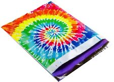 (5) TIE DYE Print 10 x 13 Poly Mailers Self Sealing Envelopes Bags Designer
