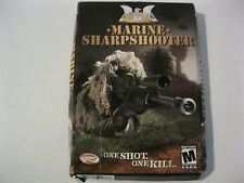 Marine Sharpshooter CTU new PC CD-ROM Groove Publishing 2003