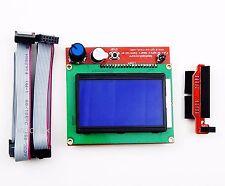 12864 LCD Display 3D Printer Controller + Adapter For RAMPS 1.4 Reprap (USA)