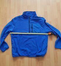 Herren Fleecepullover,Pullover blau Gr. XXXL / 3XL
