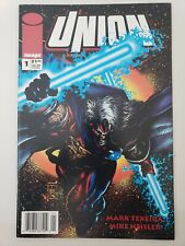 UNION #1 (1993) IMAGE COMICS 1ST APPEARANCE! MARK TEXEIRA! NEWSSTAND VARIANT HTF