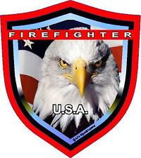 Support Firefighters vinyl car laptop or window sticker decal