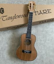 RRP £140 Concert Acoustic Model Ukulele, Maple w/ Solid Cedar Top Abalone Inlays