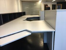 4 X Corner Desks/Workstations Suitable For Office Or Home- VGC