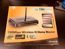 TRENDnet TEW-651BR GREENnet 150Mbps  Wireless N Home Router