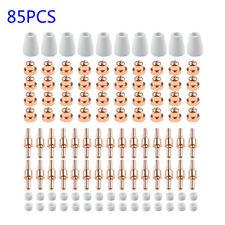 85pcs Tips Lg 40 Pt 31 Air Plasma Cutting Cutter Consumables Cut 40 Ct 312