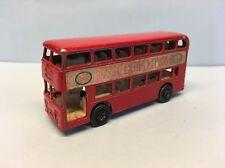 Diecast Matchbox Daimler Bus No.74 Red Wear & Tear Good Condition