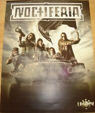 While Heaven Wept   /  Noctiferia   _ 1 Poster / Plakat  _  SIZE 28,5 cm x 38 cm