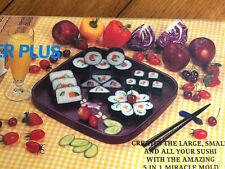 Sushi Master The Ultimate Sushi Maker Boxed Kit International Plus 5 in 1