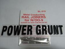 PECO Sl-310 Rail Joiners Code 80 & 55 Pack of 24 N Scale
