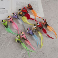 1Pc Fake craft birds artificial foam feathers magpie home party wedding decor NT