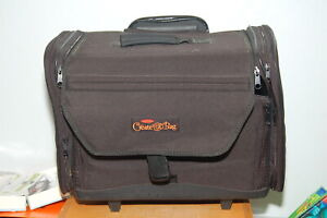 Generations Create-A-Bag Scrapbook Craft Rolling Organizer w/ Telescoping Handle