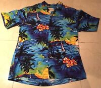 Royal Hawaiian Creations Aloha Shirt Rockabilly VLV Mens Size Large