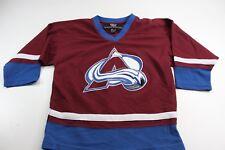 YOUTH NHL Hockey League Colorado Avalanche Hockey Jersey Shirt YOUTH M 10 12 6b845f8bc