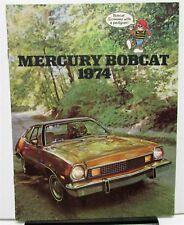 1974 Mercury Canadian Dealer Sales Brochure Bobcat Features Options