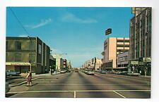 Bakersfield CA Chester Avenue at 17th Street Postcard 1960s