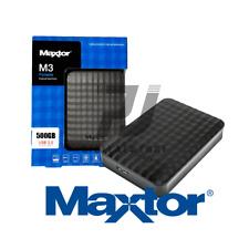 "HARD DISK ESTERNO 2,5"" 500GB SAMSUNG/MAXTOR USB 3.0 500GB MACBOOK OS WINDOWS"