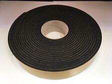 Resilient sponge rubber acoustic Sealing Tape 50mm x 10mm x 5M We manufacture