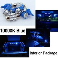 10000K Blue Interior LED Lights Package Bulb SMD For 2006-2012 Honda Civic Sedan