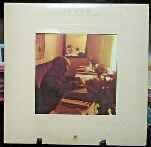 PAUL WILLIAMS Just an Old  Fashioned Love Song Album Released 1971 Vinyl USA