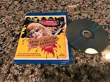 Don't Go In The Woods Alone DVD/Blu-ray! Vinegar Syndrome 1981 Friday The 13th