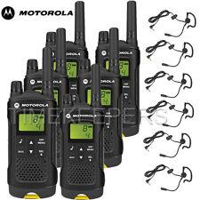 8 Km Motorola XT180 Walkie Talkie Dos Vías PMR 446 Seguridad Ocio Radio Seis