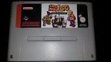 Super Mario RPG SNES Super Nintendo PAL en français (french)