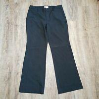 Gap Women's Dress Pants ~ Sz 4 ~ Grey ~ Favorite Trouser ~ Stretch ~ Pinstripe