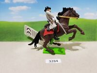 Britains ACW deetail Confederate cavalry officer (lot 3284)