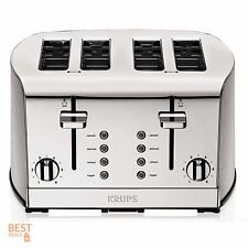 Commercial Toaster 4 Slice Stainless Steel Oven Sandwich Combo Large Best Krups