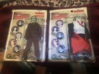8 Inch Mego Scale Herman And Grandpa Munster CTVT Figure