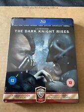 The Dark Knight Rises Blu ray Steelbook - NEW & SEALED Rare Version