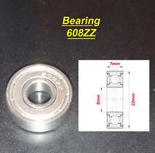 1 x Deep Groove Ball Bearing 608ZZ Roulement à Billes 8 x 22 x 7mm 608ZZ