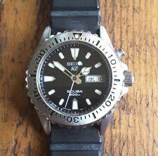 RARE Seiko AGS Kinetic 5M43-0C50 200M SCUBA Watch New Cap