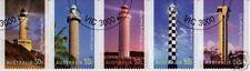 Australie 2006 Lighthouses timbres en bande de 5 très bien utilisé