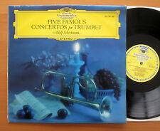 SDJ 104 433 cinq célèbres concertos pour trompette Adolf Scherbaum Tulip stereo EX/EX