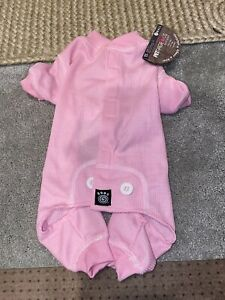 Petrageous Designs Pink Thermal Dog PJs in Size Small-NEW with Tags