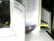 BEAU CATALOGUE AUDI 100/ 100 AVANT (break) 08 1984 (mod.85)