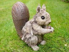 'Kevin Squirrel' Flopsy Turvy Wood Effect Garden Friends Sculptures 25cm x 30cm