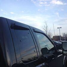 Ford F250-550 Super Cab Window Vent Deflector Rain Visor 1999-2016 JSP 218078