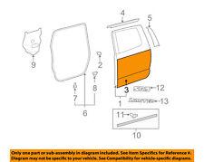 TOYOTA OEM 07-16 Tundra-Door Skin Outer Panel Left 671140C060