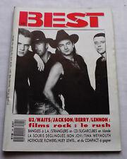 BEST No.245(Dec 1988) U2-BANGLES-SOURIS DEGLINGUEE-SUGARCUBES/BJORK-STRANGLERS